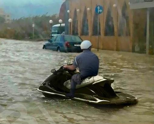 شوارع لبنان - العاصفة في لبنان
