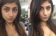 بالصور.. العاهرة ميا خليفة قبل عمليات التجميل
