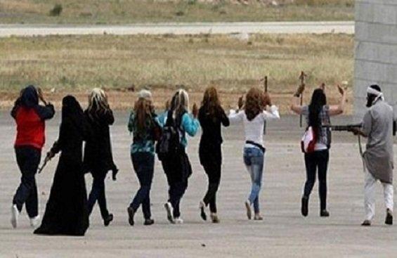 عمليات بيع النساء الايزيديات على يد داعش