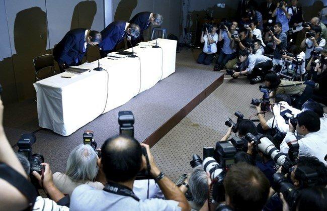 استقالة مدير شركة توشيبا بسبب الفساد