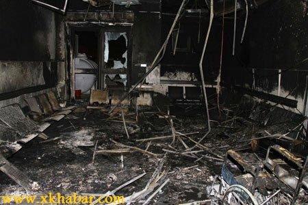 صور حريق مستشفى جازان العام ومقتل 27 شخصا