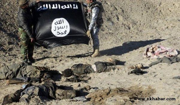 مقتل 2500 داعشي في ديسمبر وحده