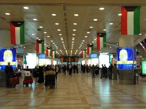 50 ألف مسافر عبر مطار الكويت في عطلة رأس السنة