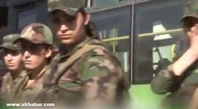 فيديو تفجير حافلة بالعاصمة دمشق على متنها مجندات قناصات