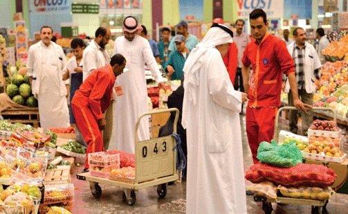القبض على 1272 شخصا في سوق خضار كويتي