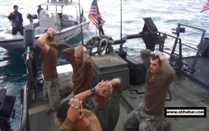 بالصور.. هكذا أذلّت ايران الجيش الامريكي وجعلتهم يركعون