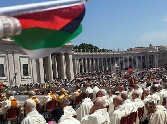 الفاتيكان يعترف بفلسطين دولة رسميا