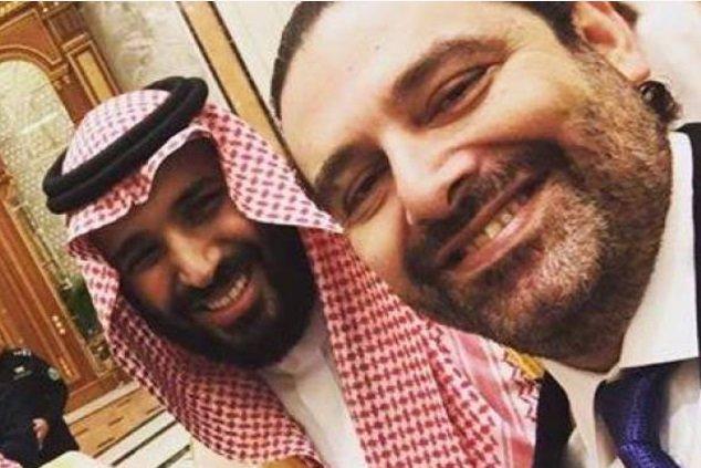 صورة سيلفي الحريري مع محمد بن سلمان تثير ضجة