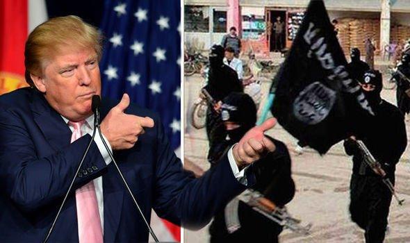 ترامب يكشف معلومات سرية عن الدولة الإسلامية