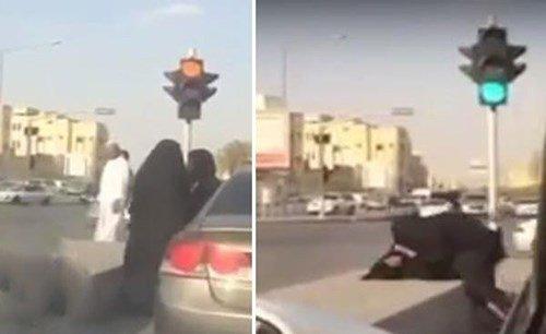 بالفيديو.. مضاربة بين فتاتين سعوديتين في رمضان
