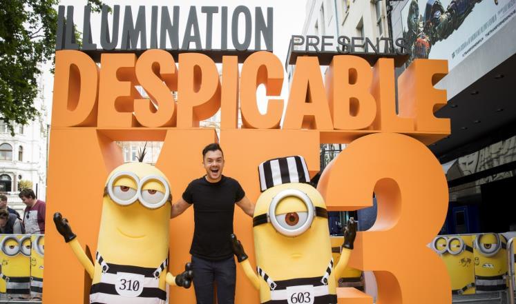 فيلم Despicable Me 3 يتصدّر إيرادات السينما بأميركا