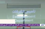 مصر تطلق خدمة تأسيس الشركات عبر الإنترنت