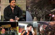 صور مروعة من حادث ملحم زين الذي نجا منه بأعجوبة
