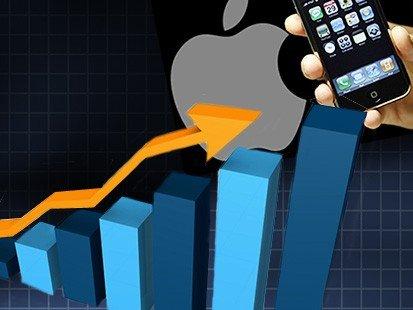 ارتفاع ايرادات آبل بنسبة 7 بالمئة بسبب ايفون