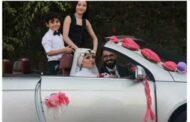 زوج يكافئ زوجته ووالدة طفليه بحفل زفاف لها