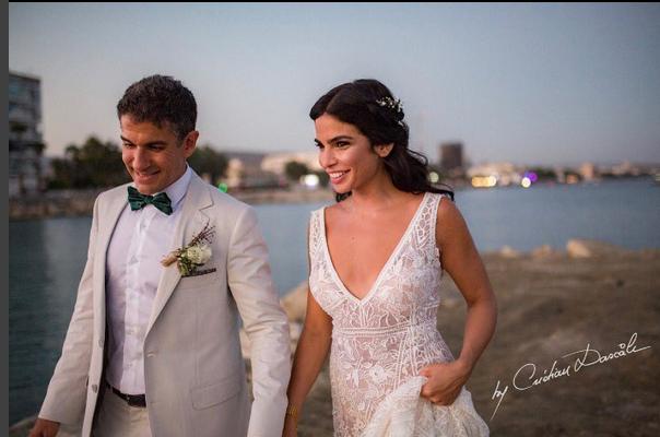 زفاف ريتا حايك في قبرص بعد قصة حب مع الطبيب
