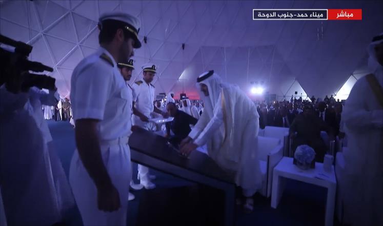 افتتاح ميناء حمد أكبر موانئ المنطقة