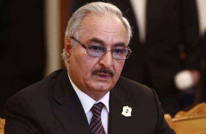 قوات شرق ليبيا تقصف معقلا لتنظيم الدولة