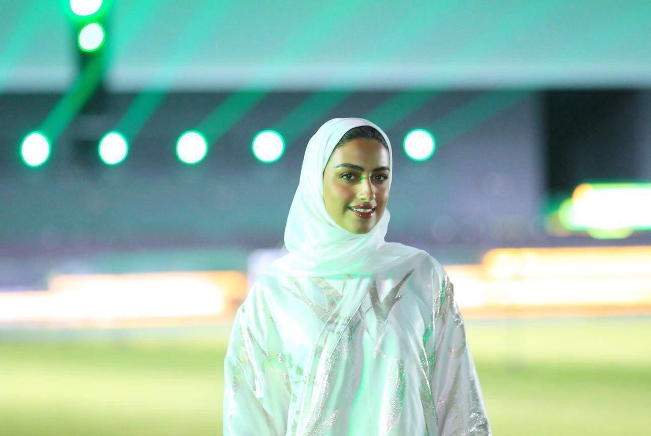 تعرّف على أول امرأة سعودية في احتفالات اليوم الوطني