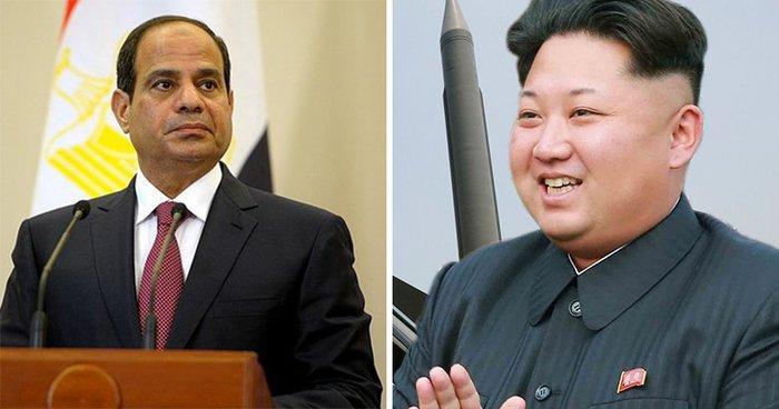 إحباط شحنة أسلحة كورية شمالية لمصر
