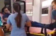 شاب يصل بالاسعاف الى المستشفى ليطلب يد حبيبته