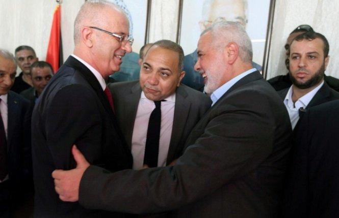 أول اجتماع للحكومة الفلسطينية في غزة بعد المصالحة