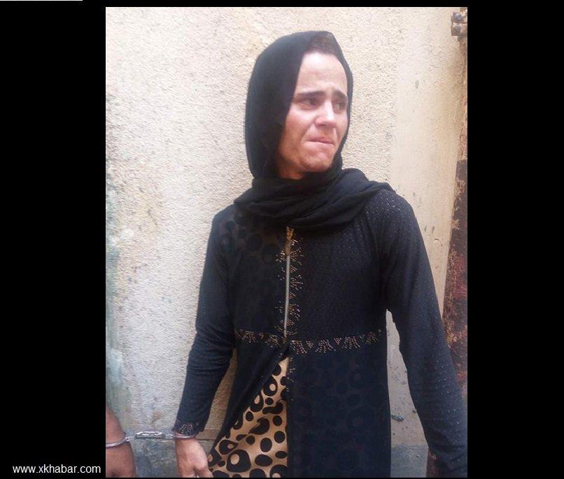 مصري ارتدى النقاب لمقابلة حبيبته وهذا ما حدث له