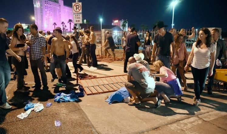 اطلاق نار في لاس فيغاس يُسفر عن قتيلين و24 مصابا