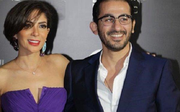 صورة تجمع احمد حلمي مع منى زكي وياسمين عبد العزيز