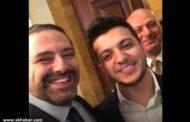 فيديو سعد الحريري مع صاحب اغنية هلا بالخميس