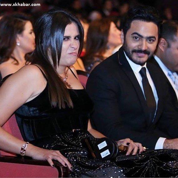 Yasmine Abdel Aziz & Tamer Hosny