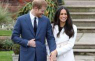 صور الامير هاري ببدلة الزفاف وخطيبته بالفستان الابيض