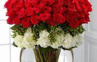 بوكيهات ورد للعروس في عيد الحب لشهر فبراير