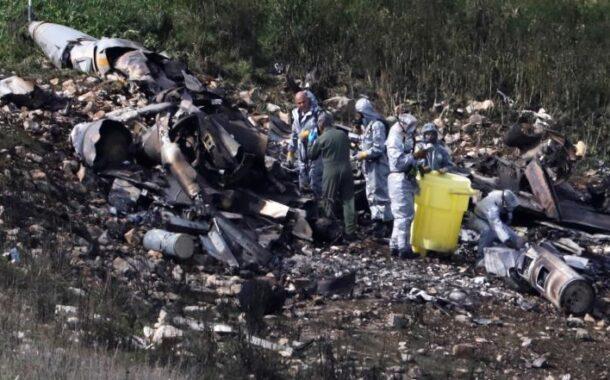 اسقاط طائرة أف16 اسرائيلية فوق سوريا