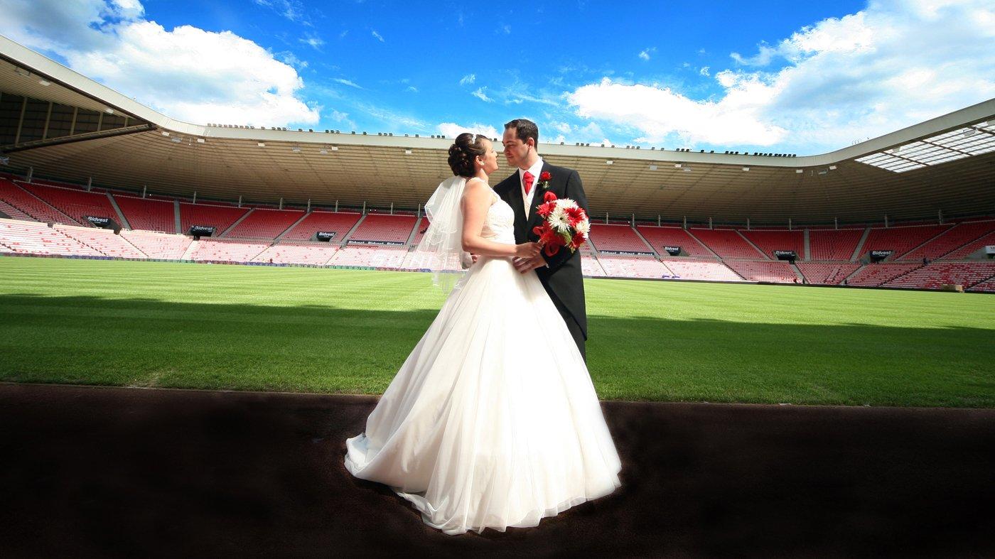 ايطاليا تشهد اول حفل زفاف في الملعب الرياضي في سبتمبر المقبل