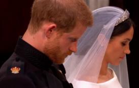 ماذا تقول لغة الجسد عن ميغان ماركل والأمير هاري في زفافهما ؟