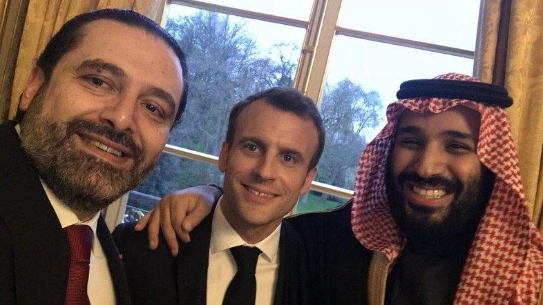 السعودية تستنكر كلام ماكرون عن احتجاز سعد الحريري بالرياض