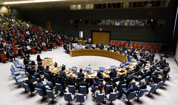 مجزرة غزة على طاولة مجلس الامن اخيرا