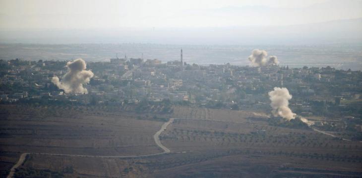 مقتل قيادي وعناصر من حزب الله بغارات اسرائيلية في القصير