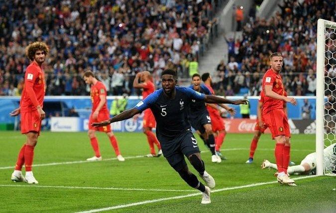 تأهل فرنسا الى نهائي كأس العالم بفوزها 1-0 على بلجيكا