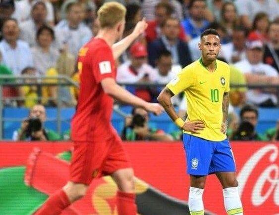 البرازيل تودع المونديال بعد الخسارة امام بلجيكا