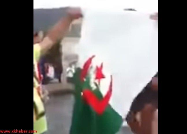 غضب واستنكار بعد حرق علم الجزائر في المونديال
