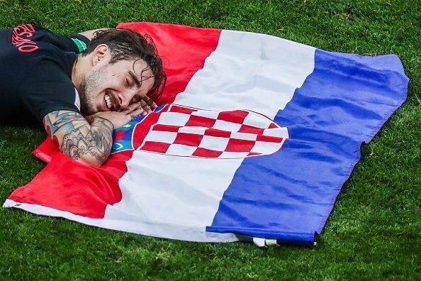 كرواتيا لاول مرة في نهائي كأس العالم على حساب انجلترا