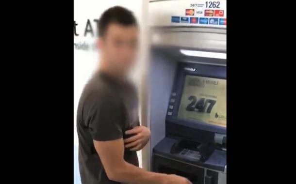 فيديو القبض على عصابة حيرت الشرطة بسرقة ماكينات الصرافة ATM