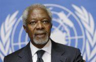 وفاة كوفي عنان امين عام الامم المتحدة السابق