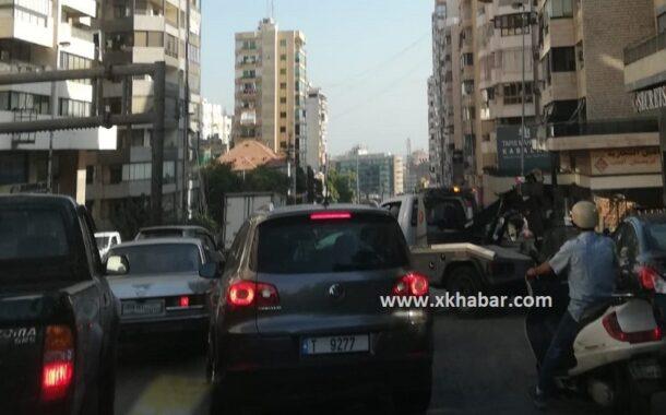 شوارع العاصمة بيروت مغلقة صبيحة عاشوراء