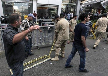 إشكالات متنقلة في الضاحية بين المواطنين وامن حزب الله