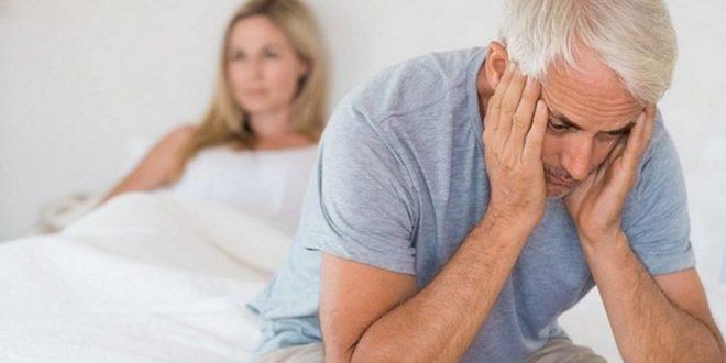 ضعف الانتصاب من اعراض سن اليأس للرجل