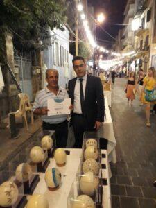 عصام الحسيني مع الوزير صحناوي