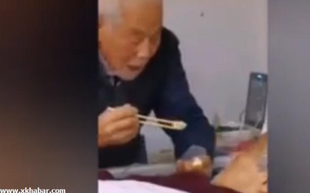 فيديو مؤثر لزوجين مسنين مريضين بالكورونا